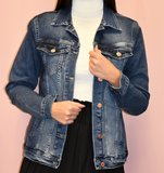 Jeans jas - Blauw _