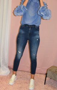 Jeans Double TT - Blauw