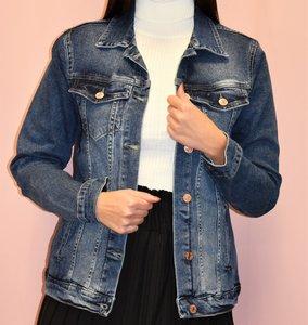 Jeans jas - Blauw