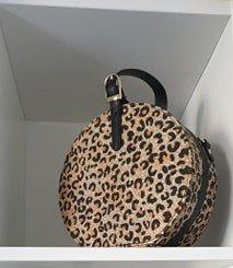 Handtas - Leopard
